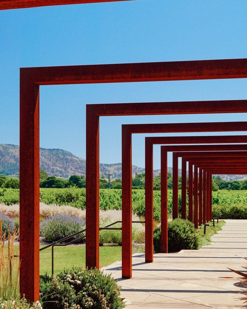 Architecturally stunning winery in Sonoma