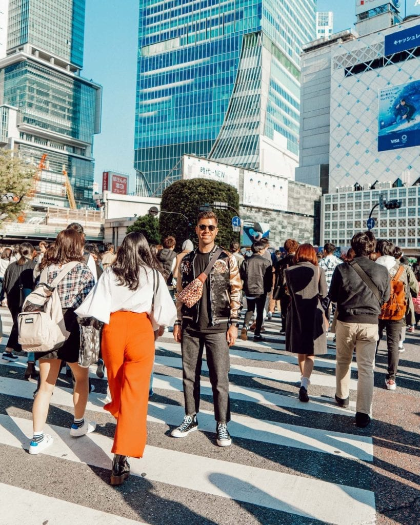 Tips for taking the perfect photo in Tokyo's Shibuya Crossing.