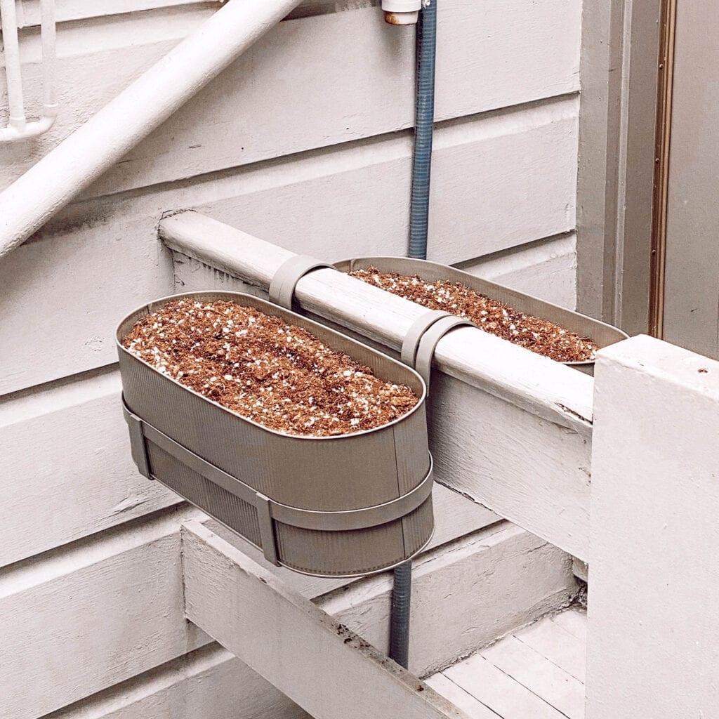 Ferm Living Bau Balcony Box Planter